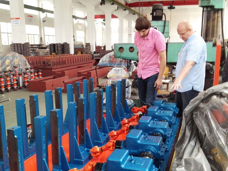 How do some buyers inspect Cold Roll Forming Machine before delivery from the supplier